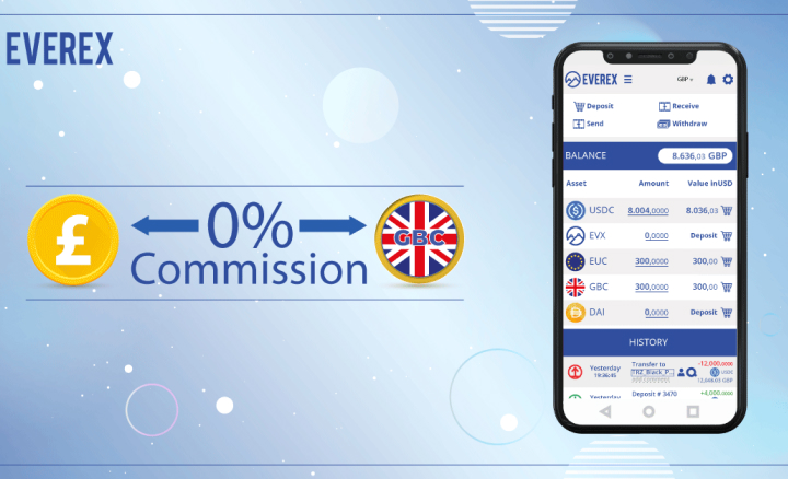 Good Day, Britain! Everex Wallet Launches Services for UK Users.